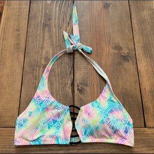 Women's PINK Bathing-suite Bikini Top